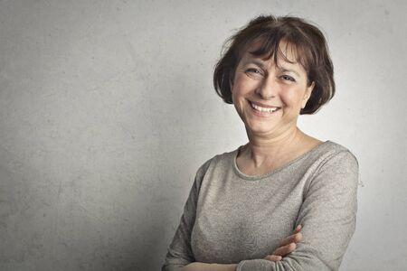 A portrait of a senior woman Фото со стока