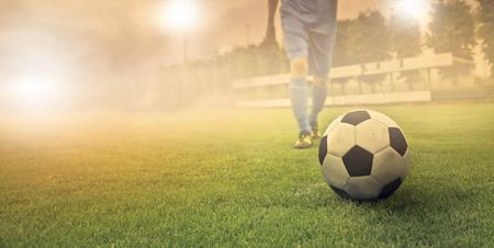 サッカー ボールを持ったプレイヤー