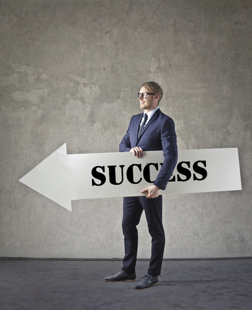 This is the way to the success photo