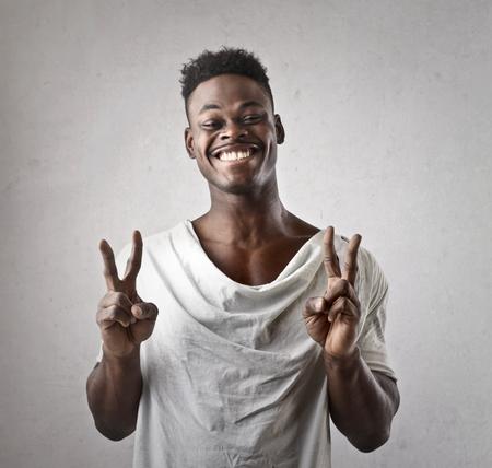 The winner african guy photo