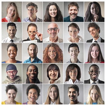 MultiR?ci? people in different yobs Фото со стока - 80320320