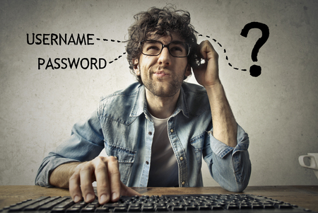 find: Man does not remember his password