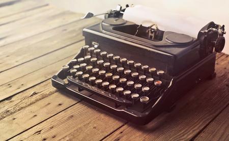 An old typwriter