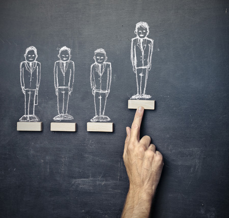 Graphic representation of success