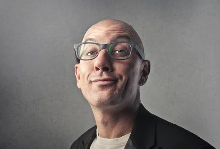 Portrait of a man with glasses Stok Fotoğraf - 94536401