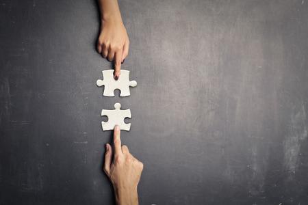 연결의 개념 스톡 콘텐츠