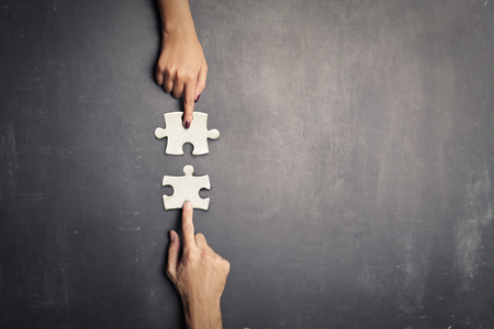 Concept of connection Banque d'images