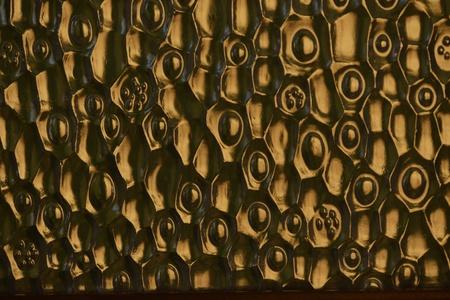 gold: Golden texture mirror. Stock Photo