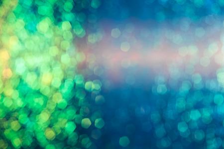glitzy: art light bokeh for background design concept 2015 Stock Photo