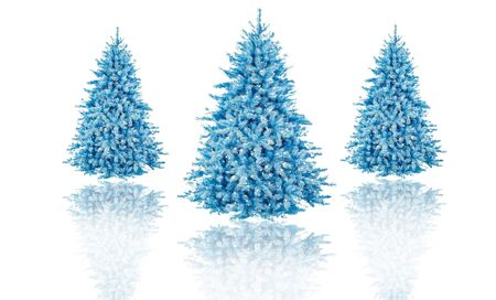 shinning light: christmas tree in isolated background idea concept decoration design Foto de archivo