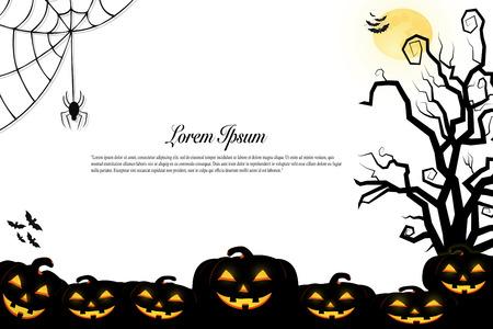 halloween background idea concept design