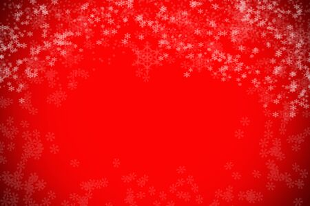 red abstract backgrounds: blur snow bokeh christmas background design