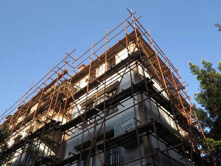 Construction of the building Фото со стока