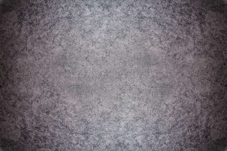 polished: Grey textured concrete wall. Dark edges Stock Photo
