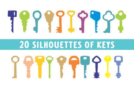 20 key in shapes design