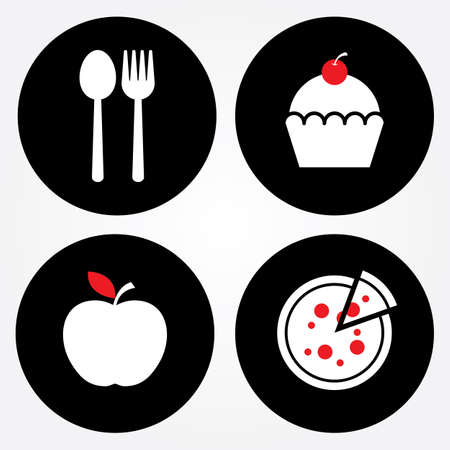 Food sign, Bakery sign, Fruit sign, Pizza sign