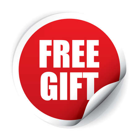 ticker: Free Gift ticker and Tag.