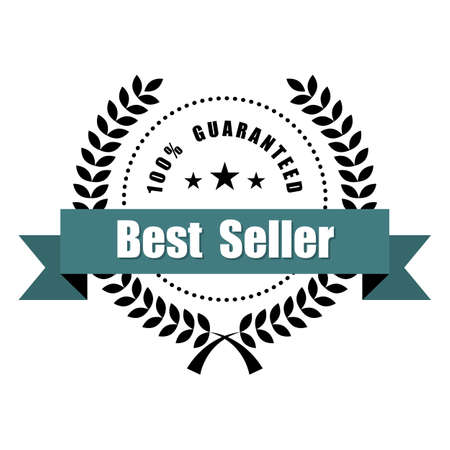 Best Seller Vintage Badges and Sign. Stock Photo