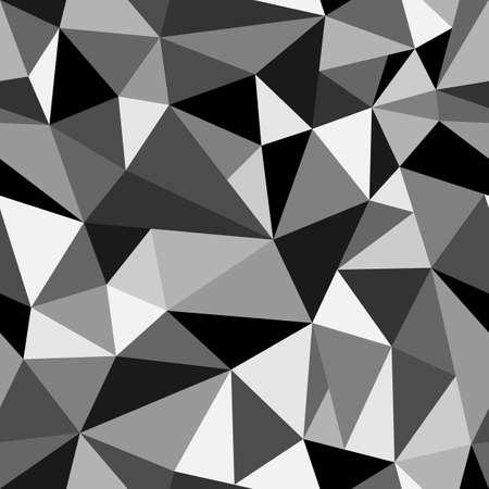 rumpled: Abstract geometric rumpled triangular vector illustration graphic background. Digital vector illustration Illustration