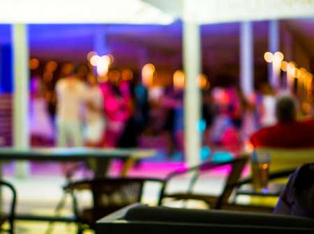 de focused: Background of disco club de focused filtered Stock Photo
