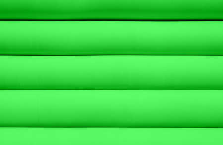 inflated: Texture of green inflated water mattress