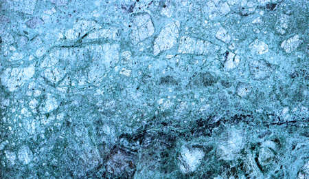 heterogeneous: Texture of blue marble slab macro Stock Photo