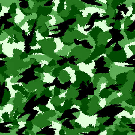 latent: Forest green war camouflage seamless pattern. Can be used for wallpaper, pattern fills, web page background, surface textures