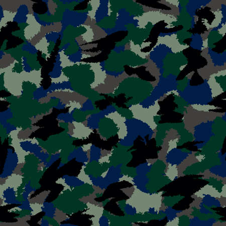 mixed wallpaper: Urban dark mixed camouflage seamless pattern. Can be used for wallpaper, pattern fills, web page background, surface textures Stock Photo