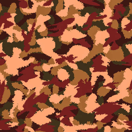 latent: Autumn mixed camouflage seamless pattern. Can be used for wallpaper, pattern fills, web page background, surface textures