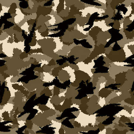latent: Desert brown war camouflage seamless pattern. Can be used for wallpaper, pattern fills, web page background, surface textures