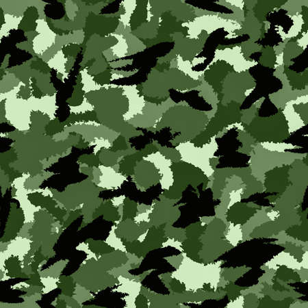 fills: Forest green war camouflage seamless pattern. Can be used for wallpaper, pattern fills, web page background, surface textures