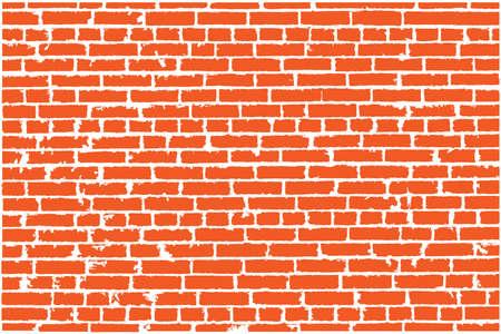 Wektor tekstury czerwonego ceglanego muru. ilustracji wektorowych