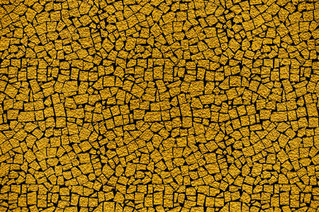 revetment: Golden revetment wall putty macro texture background mosaic styled