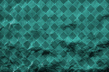 deflection: Blue water with sun reflections background texture rhombus styled