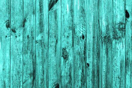 Wand aus türkis Holz Textur Hintergrund Makro