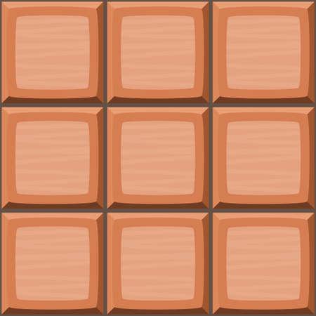 ahogarse: la mano de dibujos animados de color naranja se ahogan sin fisuras azulejos decorativos textura. ilustración vectorial