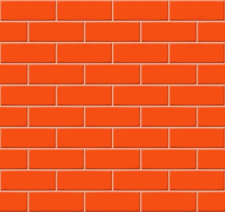 to drown: Mano de la historieta se ahogan naranja textura de la pared de ladrillo sin problemas. ilustraci�n vectorial