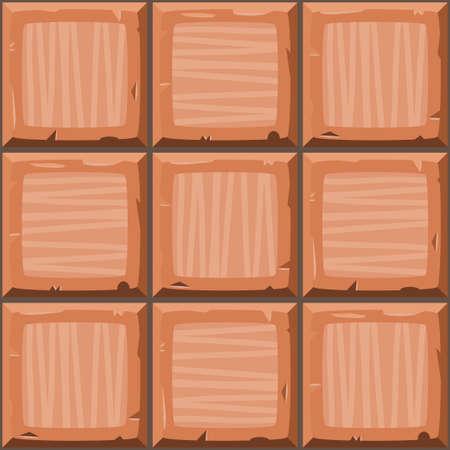 ahogarse: la mano de dibujos animados de color naranja se ahogan sin costuras decorativas azulejos antiguos textura. ilustraci�n vectorial Vectores