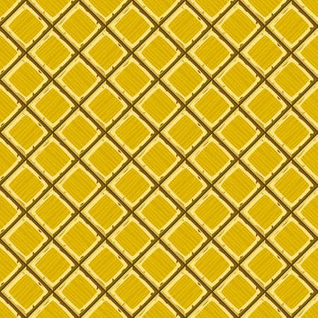 ahogarse: Mano de la historieta se ahogan oro viejo diagonal baldosas sin fisuras textura. ilustraci�n vectorial