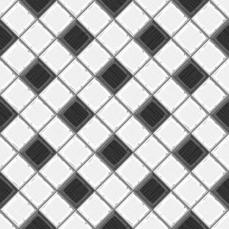 to drown: Mano de la historieta se ahogan en blanco y negro de edad diagonal baldosas sin fisuras textura. ilustraci�n vectorial