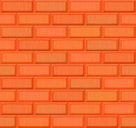 drown: Cartoon hand drown multicolored realistic seamless brick wall texture