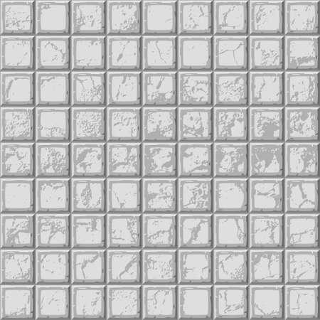 to drown: Mano de la historieta se ahogan gris sin costuras decorativas antiguo azulejos se rasc� la textura. ilustraci�n vectorial