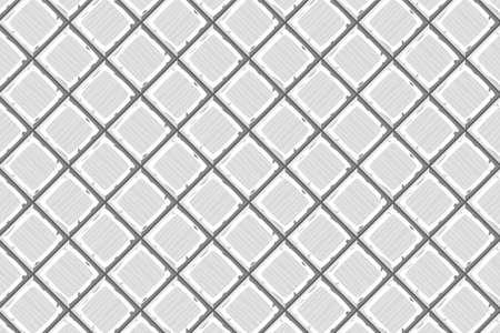drown: Cartoon hand drown grey old diagonal seamless tiles texture. Vector illustration