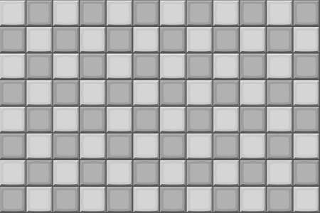 Cartoon hand drown grey seamless tiles texture
