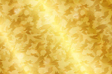Realistic gold shiny texture with sparkles. Shiny metal foil gradient. Vector illustration