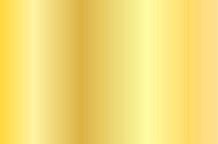 Realistic gold texture. Shiny metal foil gradient. Vector illustration