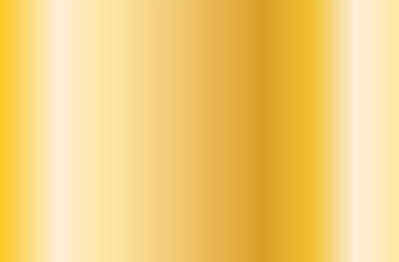 Realistic gold gradient texture. Shiny golden metal foil gradient. Vector illustration