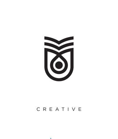 book logo design vector icon