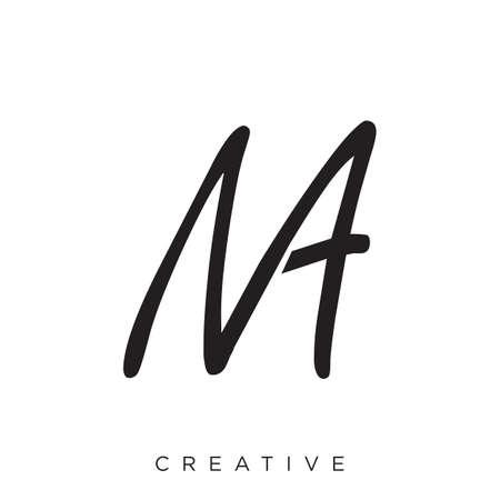ma logo design vector icon Logo