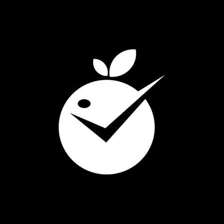 cherry logo design vector icon